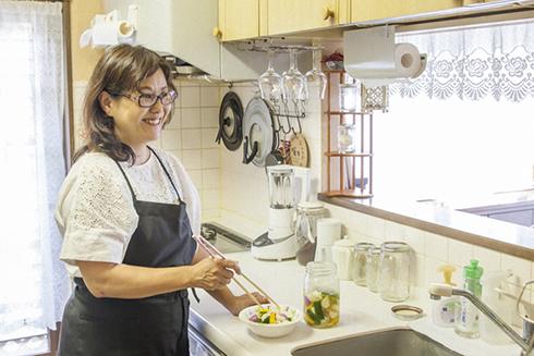 根岸農園さんの『暇人主婦の家庭菜園』のMy Precious Kitchen