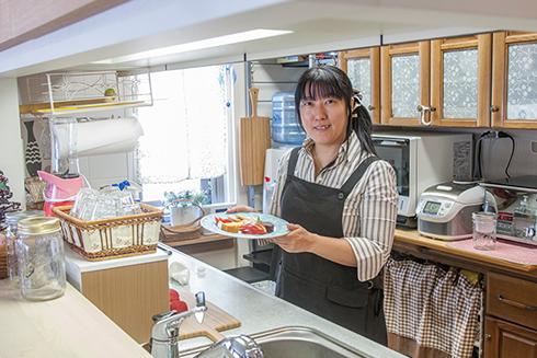 めろんぱんさんの『めろんカフェ』のMy Precious Kitchen