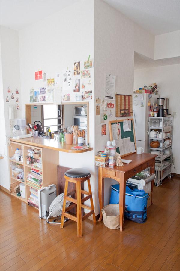 カウンターキッチンの収納グッズ6選|収納方法・実例サイト3選