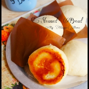 簡単[混ぜて20分置いて!]モッチリふわん♪蒸し焼きパン - 珍獣ママのフライパンひとつでできる♪簡単おかず レシピブログ -料理ブログのレシピ満載!