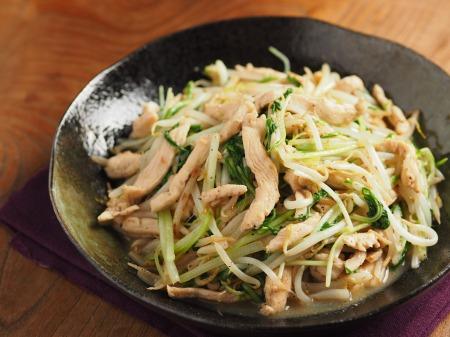 鶏むね肉のガリマヨもやし炒め24.jpg