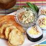 鶏そぼろと炒り卵の巻き寿司