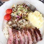 ステーキの付け合わせに彩りキャベツの簡単マリネ
