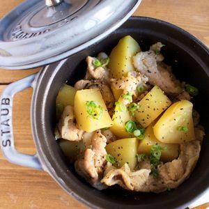レンジで10分*ほくほくじゃがいもと豚肉の甘辛煮 - たっきーママの楽ウマ!毎日おかず レシピブログ -料理ブログのレシピ満載!