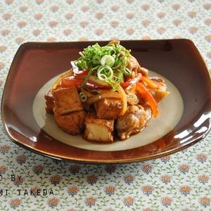 ピリ辛味がやみつきになる☆鶏肉と厚揚げの甘辛焼き - 節約アドバイザー・真由美さんの神ワザ★ストックおかず レシピブログ -料理ブログのレシピ満載!