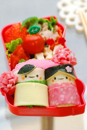 ひな祭りもキャラ弁☆フタを開けてびっくりレシピ10選
