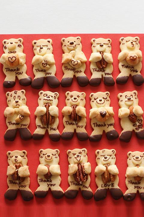 抱っこくまクッキー - おうちで楽しむ♪vivianの手づくりおかずと手仕事 [公式連載][レシピブログ]