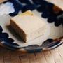 ワンボウルでできる黒糖バナナチーズケーキ
