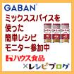 レシピブログのGABANミックススパイスを使った簡単レシピモニター参加中