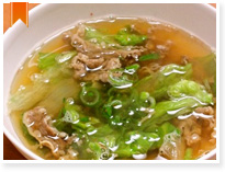 Beef soup  (牛汁)