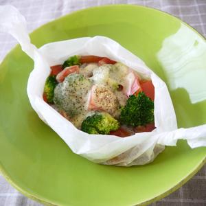 「クックパー® レンジで包み蒸しシート」でつくる包み蒸しレシピコンテスト