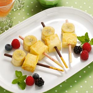ポッキー×バナナでおいしさ広がるアレンジレシピ