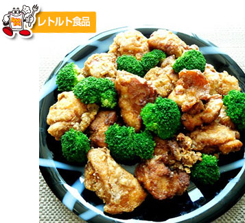 ピリッと辛い麻婆なお味の鶏のから揚げ