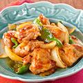 レッドカレー肉野菜炒め