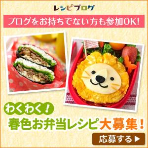 春色お弁当レシピを大募集!|レシピブログ
