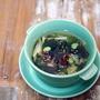 水だしで作る、具だくさんの冷製スープ