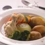 鶏手羽と丸ごと野菜のポトフ
