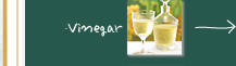 「ピュアセレクト」専用の白ぶどう酢、モルト酢、玄米酢の3種類をブレンド!