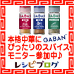 GABAN本格中華スパイス3種レシピモニター大募集!!へ参加中♪