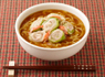 白菜のクルクル巻き麺