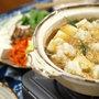 わさびおろしの天ぷら鍋