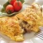 朝食に◎しめじと鶏ひき肉のオムレツ