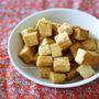 揚げ高野豆腐のガラムマサラバター