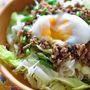 花椒風味の中華そぼろ混ぜ素麺