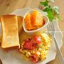 トマトとチーズのとろとろスクランブルエッグ◎オレガノ風味