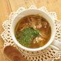 もやしと豚肉のタイ風スープ
