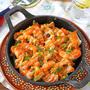 トースターで簡単!海老と蓮根のバル風ピリ辛マヨ焼き