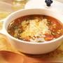 トマトの赤とサフランの黄色が輝く♪お米のスープ、ソパ・デ・...