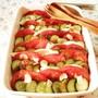 のっけてジュレで野菜がごちそう!焼かない野菜とモッツァレラ...