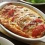 チーズがとろ~り♪オレガノが香るトマト入り焼...