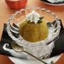 ハロウィンに♪かぼちゃのアイスケーキ、パンプキンセミフレッ...
