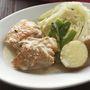 ホワイトペパー風味の蒸し煮♪春野菜と鶏肉のブレゼ