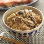 シナモンプラスで!中華風きのこと豚肉の炊き込みご飯