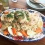 クミン×パクチーでモロッコ風♪鶏肉と野菜の炊き込みごはん