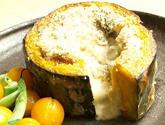 すくなかぼちゃと白ナスの豆乳グラタン> from 『子どもと楽しむ食時間』 by mihoさん