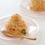 チーズドレッシングのサラダスパゲティ