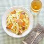 サーモンと白菜のクリーミーパスタ