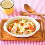 朝ごはんに♪お手軽3分ペンネとトマトのスープ