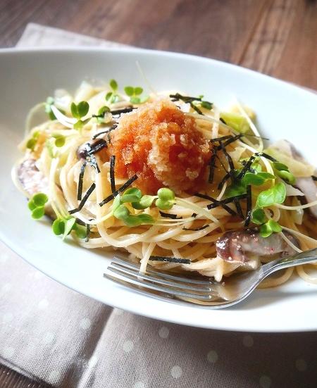 残り野菜のおろしたらこスパゲティ (2).jpg